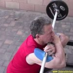 Barbell Front Squat Sting-Ray Device